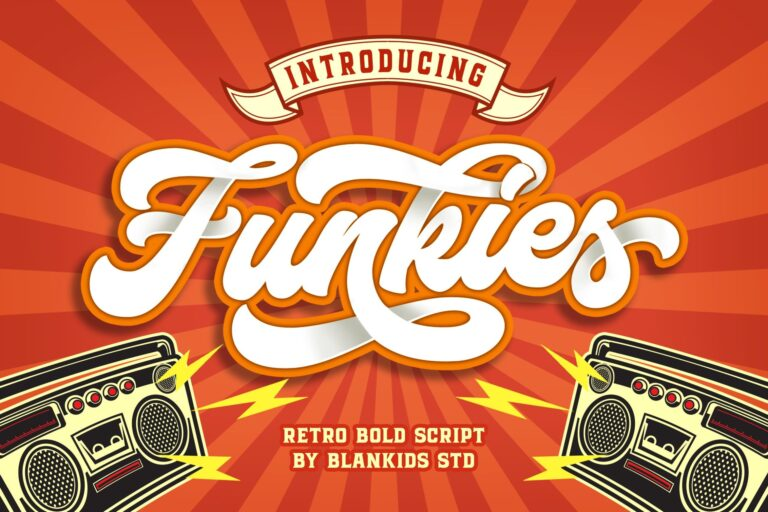 Preview image of Funkies Font