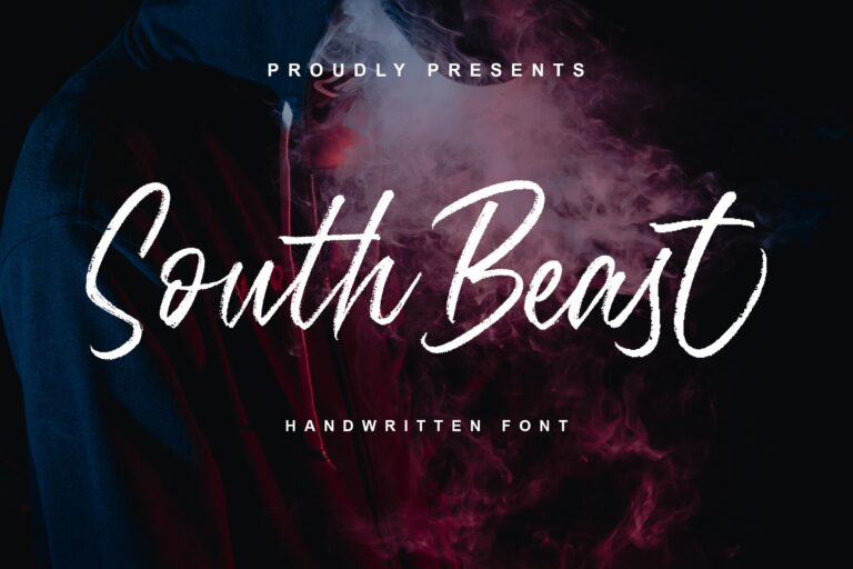 Preview image of South Beast Font