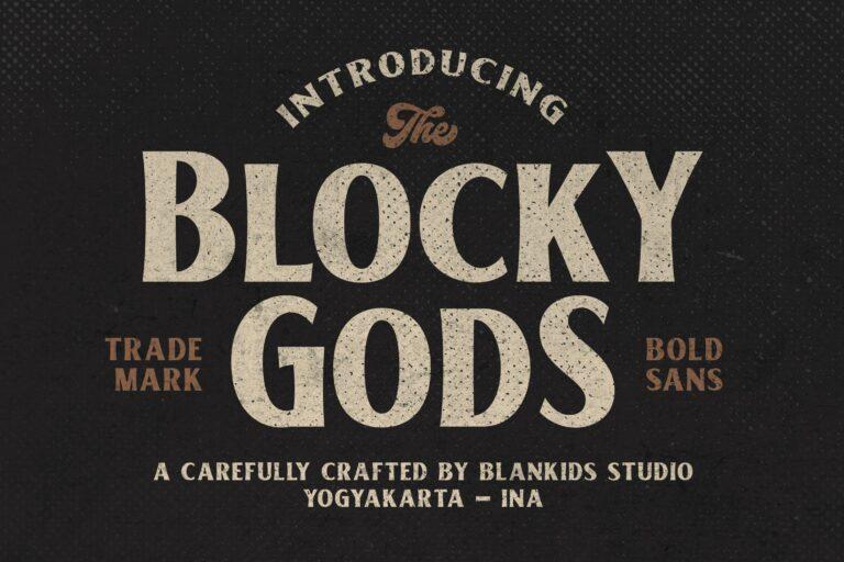 Blocky gods