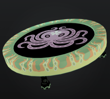 Tako-topus trampoline