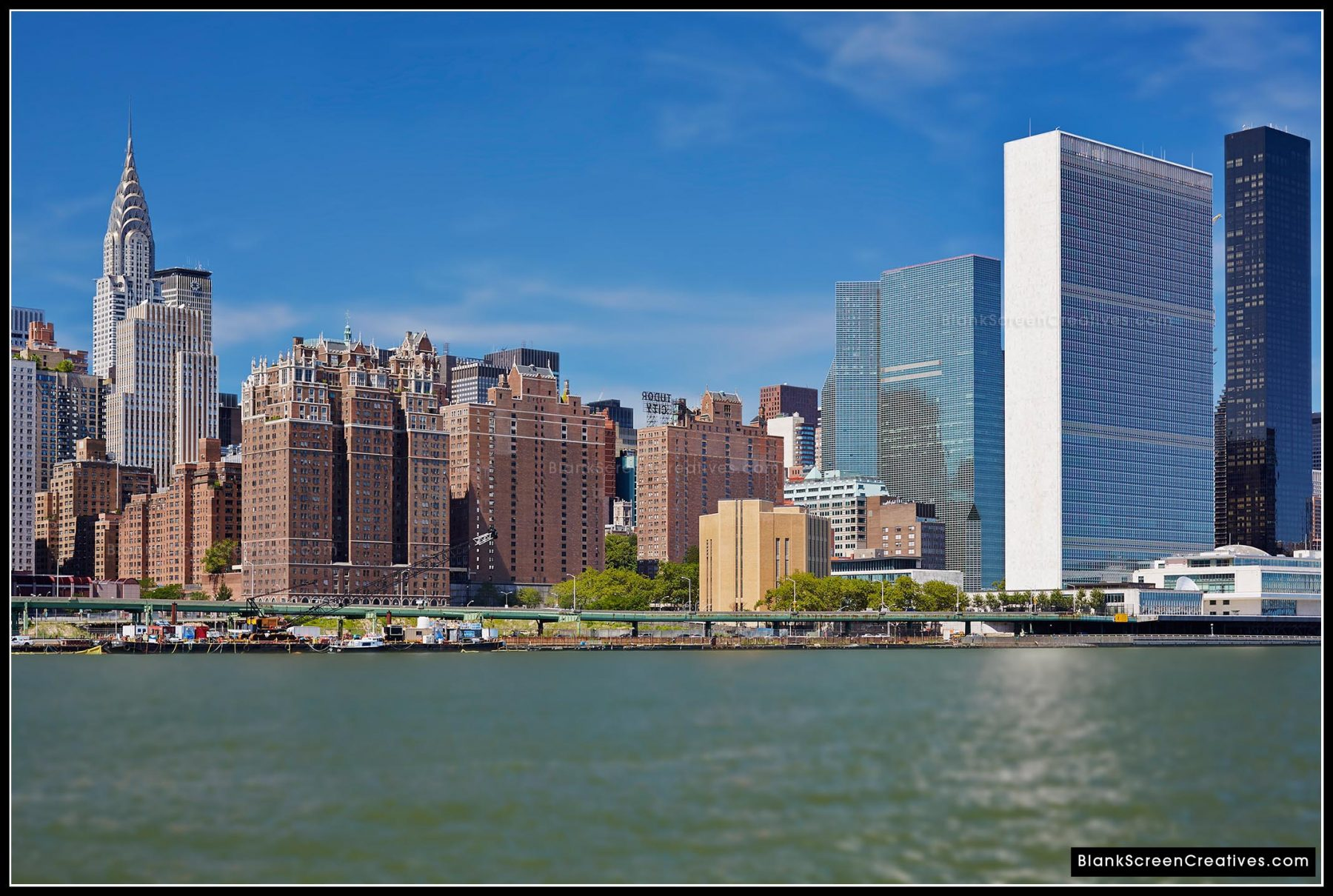 Chrysler Building, United Nations & Tudor City