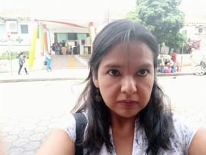 Journalisten Rocío Lloret Cespedes