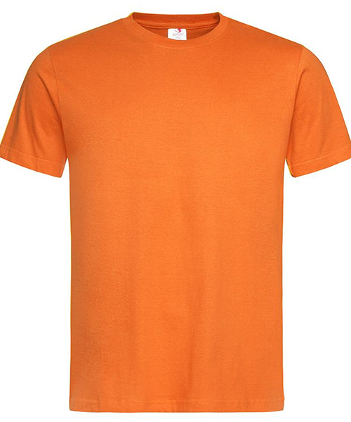 Stedamn Men T Shirt Orange