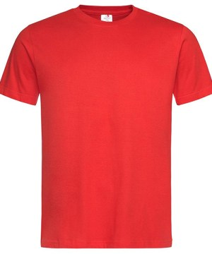 Stedamn Men T Shirt Red
