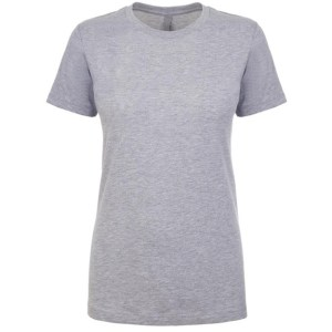 NL Apparel Ladies T-Shirt Grey Marle