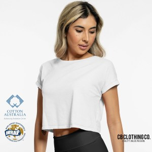 TBTS CB Clothing Co Ladies L6 Crop T-Shirt