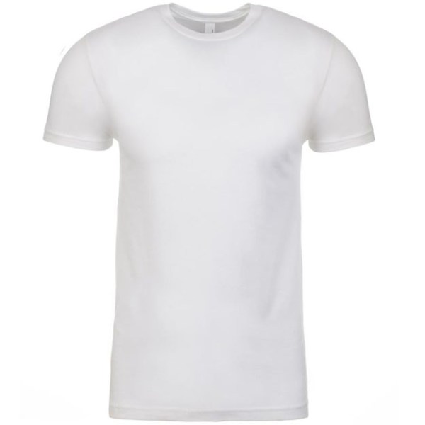 NL Apparel Men T-Shirt WHITE