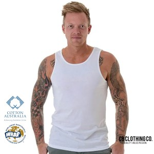 TBTS CB Clothing Co Men M8 Singlet