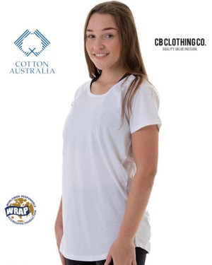 CB Clothing Co Ladies L2 Curve T-Shirt