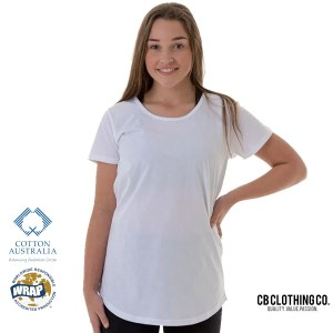 TBTS CB Clothing Co Ladies L2 Curve T-Shirt