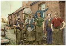 c1922 Blacksmiths at Dixons Rows