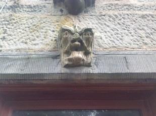Gargoyle at Croftfoot