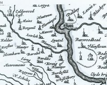 1654 map Blantyre area