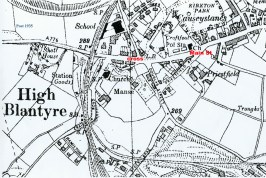 1935 Main Street, Kirkton Map