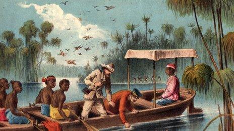 1957 David Livingstone in Africa