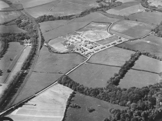 1960s WW2 Air raid battery at Redlees