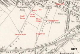 1897 Map of Slag Road