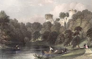 c1860 Bothwell Castle