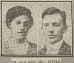 1922 George Little & wife