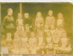 1910 Mary Danskin at School