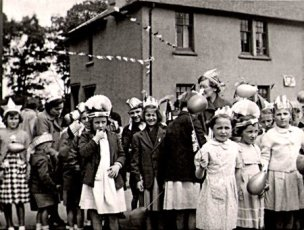 1953 Village Kids Coronation Party