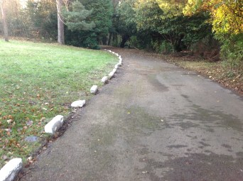 2013 Greenhall Kerbstones painted white (PV)