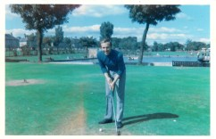 1969 Joe Veverka at the pitch n putt