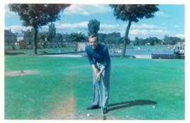 1969 Joe Veverka at the pitch n putt