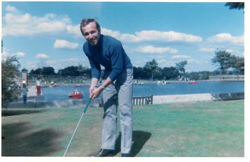 1969 Boating Pond in the background. Remember?