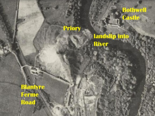 1944 Priory Colliery slip into Clyde