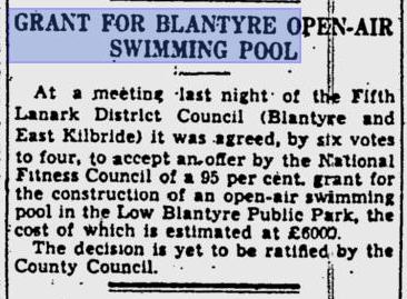 1939 Open air pool