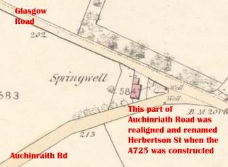 1859 Springwells Map