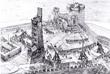 1301 Siege of Bothwell Castle