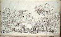 1799 Bothwell Castle frio Priory