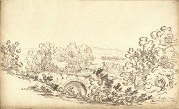 1799 The Priory Bridge by Jean Claude Nattes