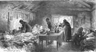 1877 Nursing injured miners at Dixons after Pit Explosion.
