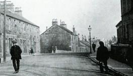 1913 Main Street looking East towards Auchinraith