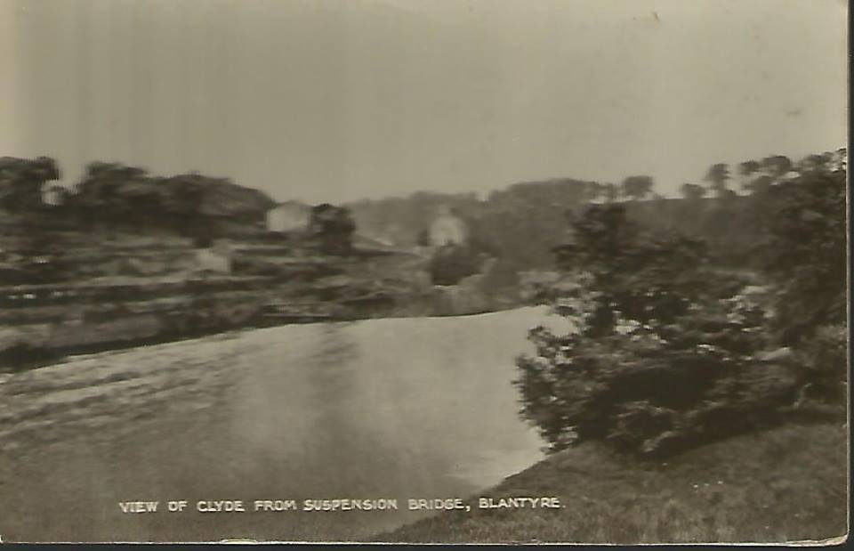 1910 Clyde from Suspension Bridge shared by Jim Cochrane