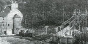 David Livingstone Memorial Bridge c 1955