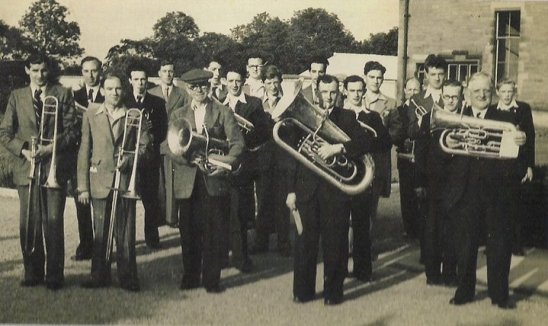 1955 St Josephs Silver band