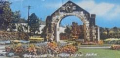 1966 Entrance to Stonefield Public Park