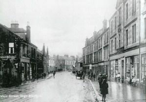 Rainy April day Main Street 1920 (PV)
