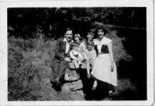 c1957 or so. Milheugh well , sent in by Jack Bethel