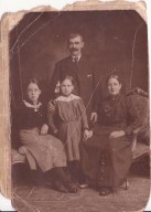 1914 Mary Crowe's Grandparents and mother
