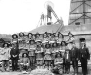 1920 Miners at Bardykes Colliery