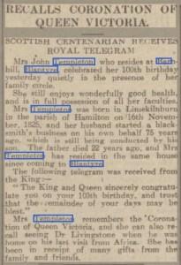 1925 Telegram to Templeton