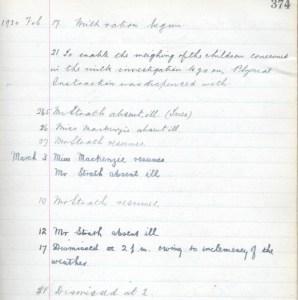 1930 Milk run blantyre