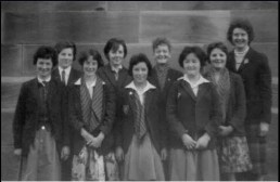 1958 Teacher Helen McLachlan and St Josephs