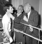 1966 Boxer Walter McGowan at Blantyre Club