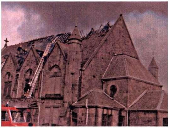 1979 Blantyre Project Stonefield Parish Church fire